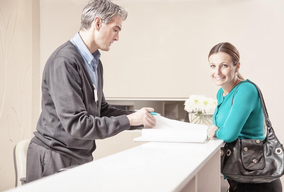 receptionist training telephone manner gp practice management blog