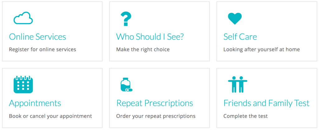 Using your practice website to signpost your patients