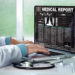 Electronic solution to providing medical reports