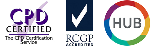 We are CPD and RCGP accredited!