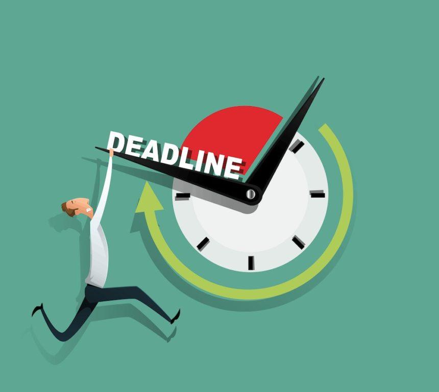 Avoiding the QOF deadline panic