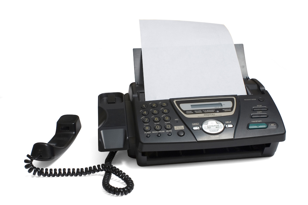 Room 101 – The fax machine