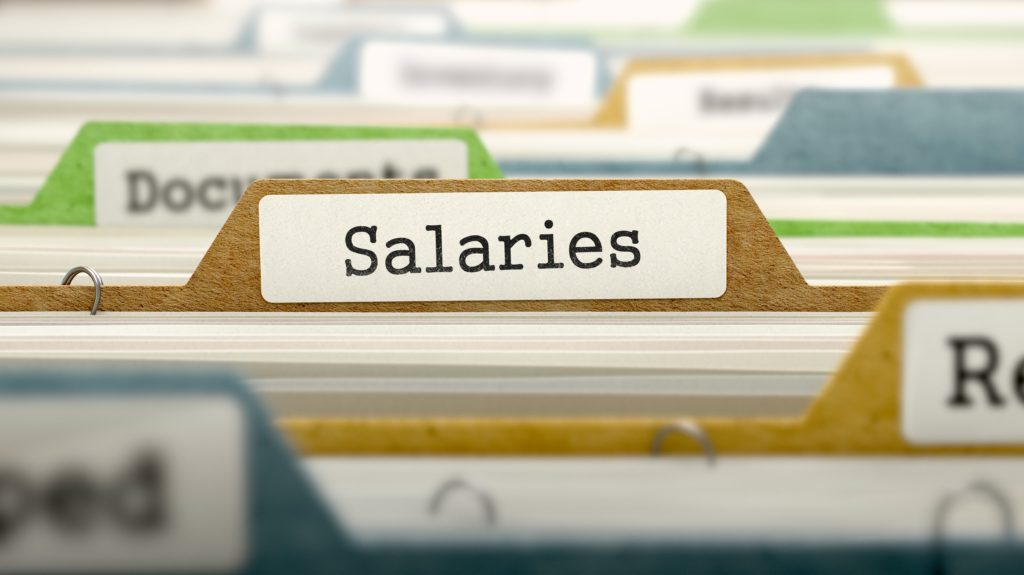 Does your practice publish its pay scales?