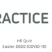 HR Quiz Easter 2020 (COVID-19)