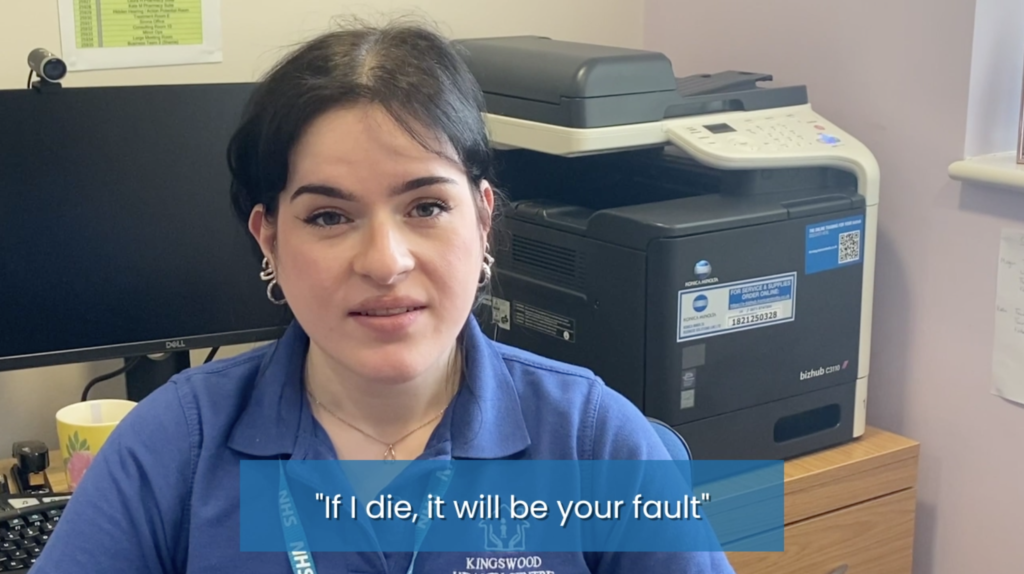 New campaign video from the IGPM calls for end to abuse from patients