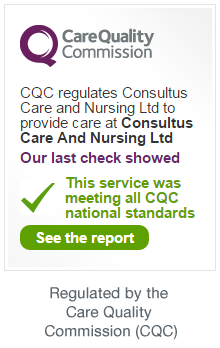 Consultus Nursing is regulated by the Care Quality Commission