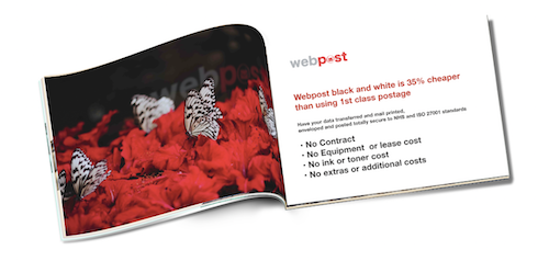 Webpost brochure